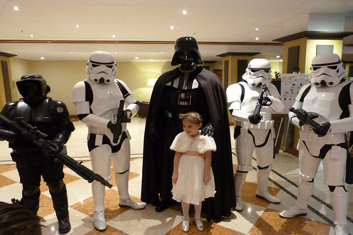 Donna's Dream Ball 2018 Stormtroopers